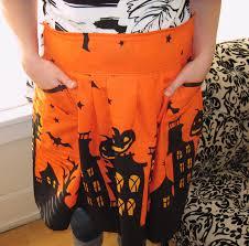 thanksgiving aprons sewn halloween apron favecrafts com