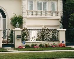 wrought iron property fences orange county ca decorative iron