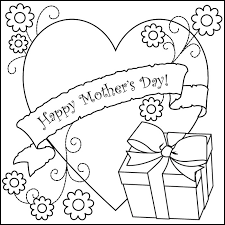 mother s day coloring sheet mothers day coloring pages getcoloringpages