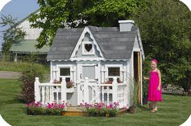 kids outdoor wooden playhouse ideas loccie better homes gardens