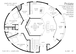3 386 square feet three bedrooms two baths monolithic dome house