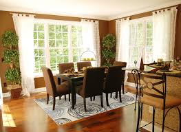 Simple Area Rug Under Dining Table Idea To Provide Space Visual - Area rugs dining room