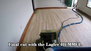 lagler hummel performing completely dust free sanding