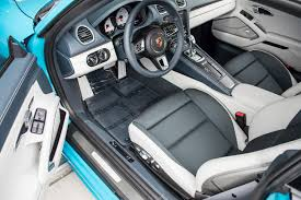porsche graphite blue interior miami blue with graphite blue chalk interior porsche 718 forum