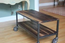 side table on casters ideas of coffee table magnificent side table on casters coffee table