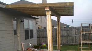 backyard patio roof house design and planning