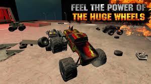 3d police monster truck trucks monster trucks fighting 3d bigfoot car simulator android apps