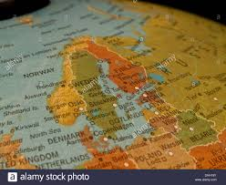 Northern Europe Map A View Of Scandinavia And Northern Europe On A Beautiful