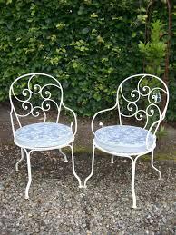 Garden Armchairs Pair Of 1950 U0027s French Garden Armchairs In Architectural U0026 Gardenalia