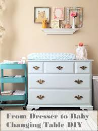 Baby Changing Table Ideas From Dresser To Changing Table Without Sanding Diy Petals
