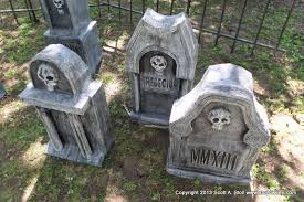 tombstones for how to chunky tombstones stolloween