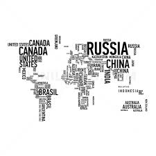 World Map Cuba by