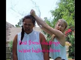 Challenge Water Balloon Best Friend Challenge Water Balloon Edition