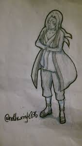 naruto character drawing 3 lady tsunade the 5th hokage u2014 steemit