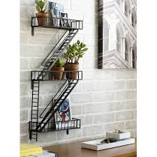 fire escape shelf utilitarian designs for your home uncommongoods