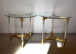 brass and glass end tables 28 best end tables images on pinterest small tables occasional