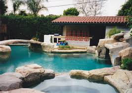 back yard pool and cabana sds