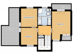 Ground And First Floor Plans by Italian Property To Buy Villa In Montebuono Lazio