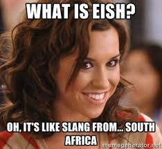 Whats Does Meme Mean - what does eish even mean eish