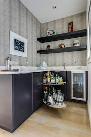 decorating contemporary blind corner cabinet make your kitchen sophisticated dark kitchen cabinets with lamiante blind corner