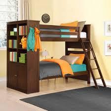 Bayside Furnishings Twin Over Twin Bunk Bed With Storage - Twin bunk beds with storage