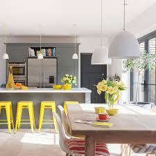 yellow and grey kitchen ideas appealing grey kitchen ideas that are sophisticated and stylish