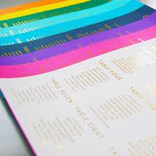 gold and grey metallic wedding seating plan table plan by made