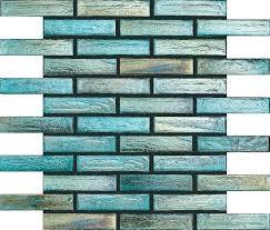 Teal Tile Backsplash by Image Gallery Teal Tile