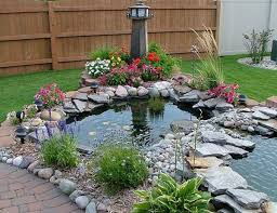 Build Backyard Pond Stylish Design Backyard Ponds Easy Backyard Crafts Home