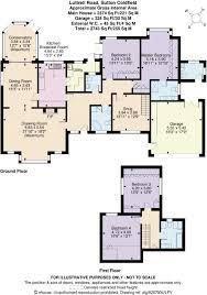 Nec Birmingham Floor Plan 4 Bedroom Detached Bungalow For Sale In Luttrell Road Sutton