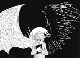 note shinigami wings by shiroryu927 on deviantart
