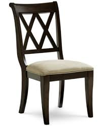 baker dining room chairs baker street dining side chair furniture macy s