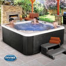 divine tubs langley 76 jet 5 6 person spa