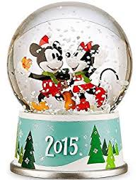 amazon disney mickey mouse u0026 minnie mouse snowglobe holiday