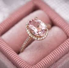 pink gemstones rings images Custom engagement rings design your own engagement ring jpg