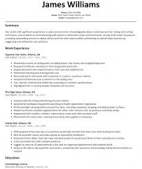 Salon Assistant Job Description Resume by Resume Templates Of Resumes Need A Better Job Sample Banking