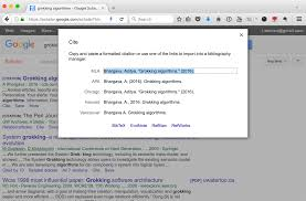 cite using google scholar for citations 阿男的小窝