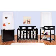 Baby Cribs 4 In 1 Convertible Bsf Baby Grace 4 In 1 Convertible Crib Espresso Walmart