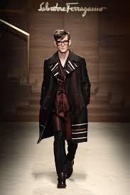 tendencias en ropa para hombre otono invierno 2014 2015 camisa denim salvatore ferragamo la colección de moda hombre para el otoño