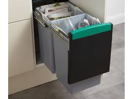 poubelle pour meuble de cuisine poubelle de cuisine tri sélectif 3 bacs inspirations avec comment