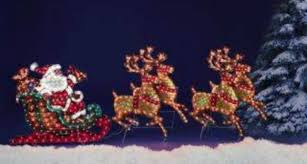 Outdoor Christmas Decorations Santa And Reindeer by Santa And Sleigh Outdoor Christmas Decorations Ideas Photo Gallery