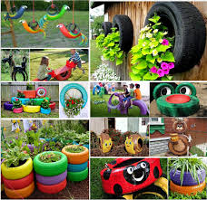 Recycling Ideas For The Garden Tire Ideas For Backyard Awesome Projects That You Ll Tires