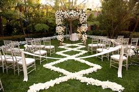 Wedding Ceremony Decorations Diy Outdoor Wedding Aisle Decorations U2014 Unique Hardscape Design