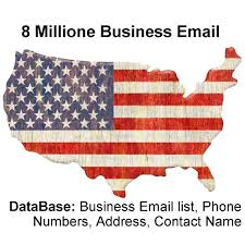 Business Email List by Usa Business Database And Email List 8 Million Email For 10