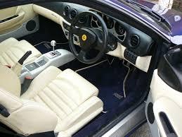 Ferrari 360 Interior Photos Of Ferrari Cars In The Workshop At Rosneath Engineering