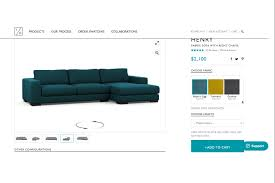 Modern Line Furniture Reviews custom couch makers want to do for sofas what casper did for
