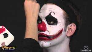 clown makeup how to diabolical clown halloween makeup tutorial