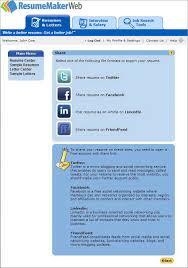 Social Media Job Resume by Find Jobs On Social Media Networks Resumemaker Com