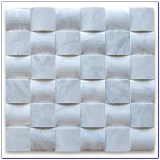 carrara marble mosaic tile backsplash tiles home design ideas