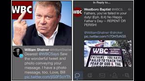 William Shatner Meme - william shatner posted this response to wbc tweet meme guy